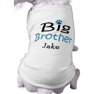 Camiseta Camisa personalizada do animal de estimação do big