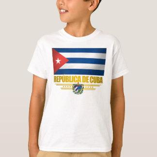 """Camiseta """"Camisas do orgulho cubano"""""""