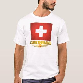 """Camiseta """"Camisas do orgulho suíço"""""""