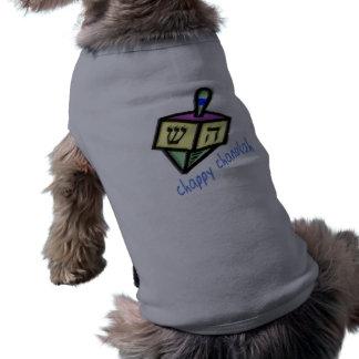 Camiseta Camisetas de cão Chappy de Chanukah