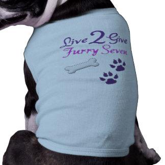 Camiseta Camisola de alças com nervuras do cachorrinho de