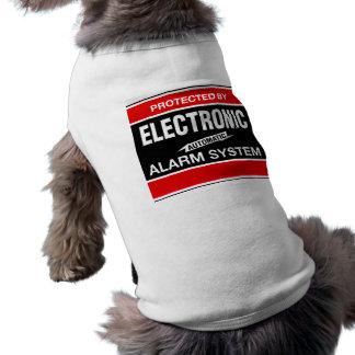 Camiseta Camisola de alças com nervuras eletrônica do siste