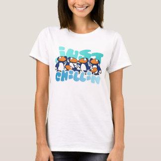 Camiseta Camisola de alças das senhoras de Chillin do