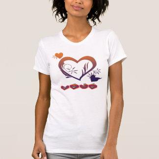 Camiseta Camisola de alças das senhoras de SDA (AMOR)