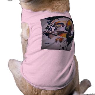 Camiseta Camisola de alças do cachorrinho da imagem do