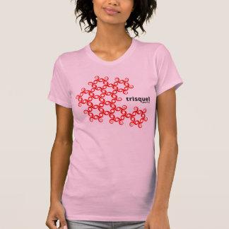 Camiseta Camisola de alças do teste padrão de Trisquel