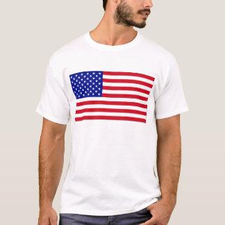 Camiseta Camisola de alças patriótica da bandeira americana