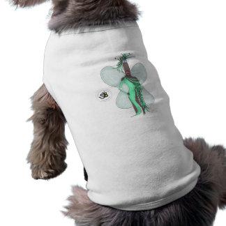 Camiseta Camisola de alças Pseudo do animal de estimação da