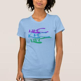 Camiseta Camisola de alças viva de Kettlebell do elevador