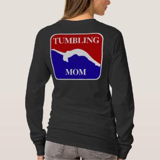 Camiseta Camisola de caída do gymnast da mamã