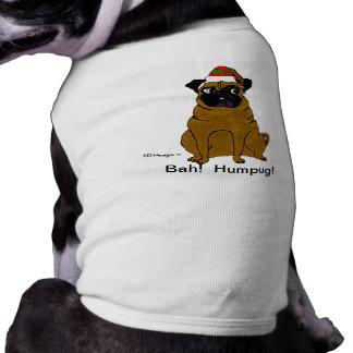 Camiseta Camisola do animal de estimação de Bah Humpug