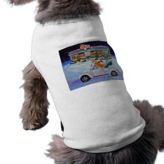 Camiseta Camisola do cão da arte do Corgi de Galês do Pembr