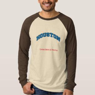 Camiseta Camisola dos Estados Unidos da América de Houston