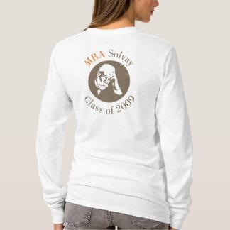 Camiseta Camisola encapuçado adulta - MBA Solvay