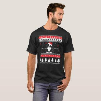 Camiseta Camisola feia do Natal da montanha de Bernese