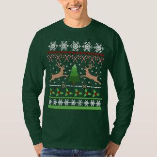 Camiseta Camisola feia engraçada do Natal