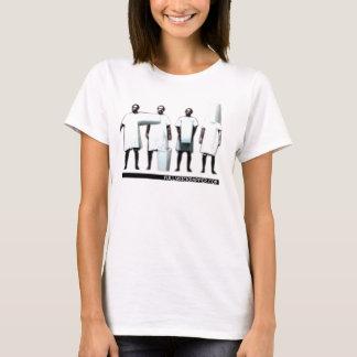 Camiseta Camisola interioa inteiramente doente da seqüência