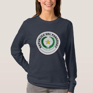 Camiseta Camisola paraguaia da brasão