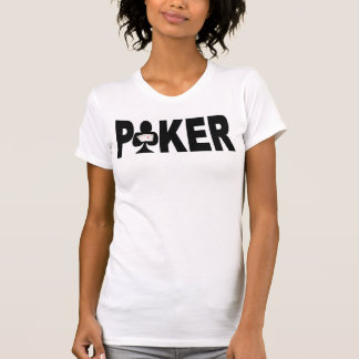 Camiseta Camisole das senhoras do jogador de PÓQUER