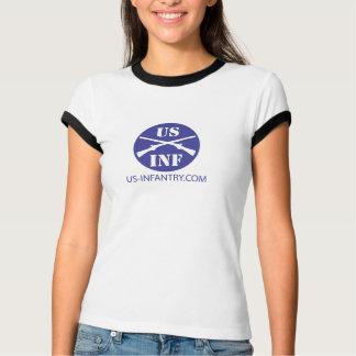 Camiseta campainha das senhoras de US-Infantry.com