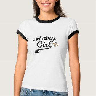 Camiseta Campainha de Nova Orleães da menina de Metry