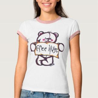 Camiseta Campainha livre T dos abraços