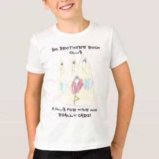 Camiseta Campainha T da rocha do big brother