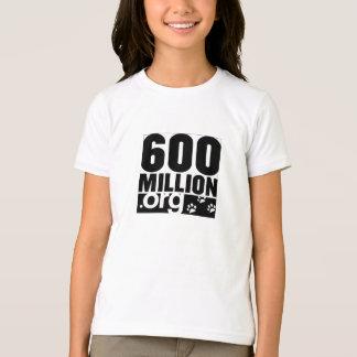 Camiseta campainha t das meninas