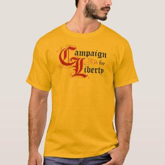 Camiseta Campanha para a liberdade (me pergunte