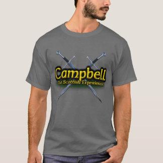 Camiseta Campbell o clã escocês da experiência