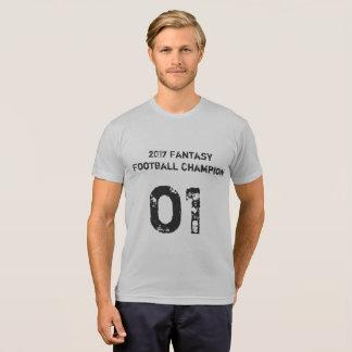 Camiseta Campeão 2017 do futebol da fantasia