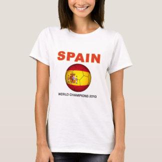 Camiseta Campeão África do Sul do campeonato do mundo 2010