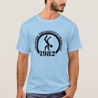 Camiseta Campeão da dança de ruptura do Tri State