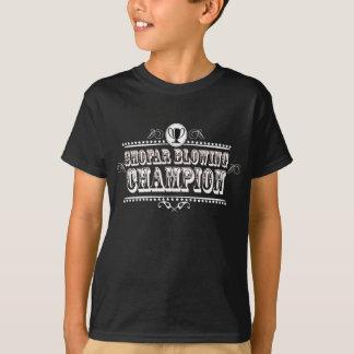 Camiseta Campeão de sopro do Shofar