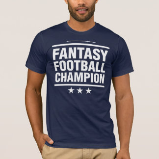 Camiseta Campeão do futebol da fantasia!