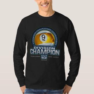 Camiseta Campeões da divisão da bola de APA 9