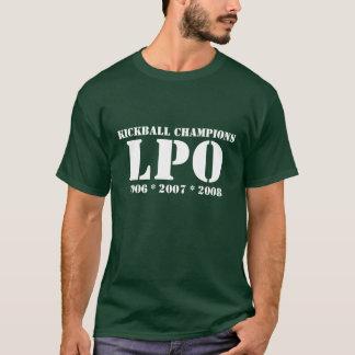 Camiseta Campeões de Kickball, LPO, 2006 * 2007 * 2008