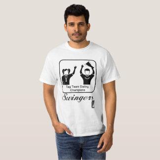 Camiseta Campeões do namorando da equipe do Tag dos boémios