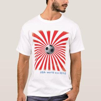 Camiseta Campeonato do mundo 2010 dos EUA/futebol Sun