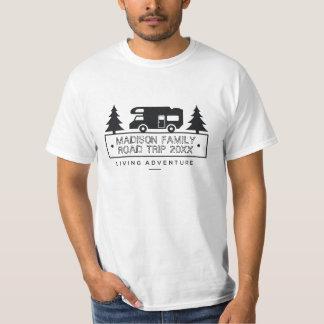 Camiseta Campista conhecido rv Motorhome da viagem por