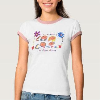 Camiseta Campista da avó do acampamento