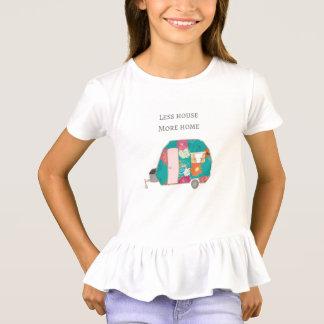 Camiseta Campista feliz - menos casa mais casa
