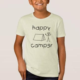 Camiseta Campista feliz (preto)