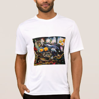 Camiseta Campo de jogos subaquático