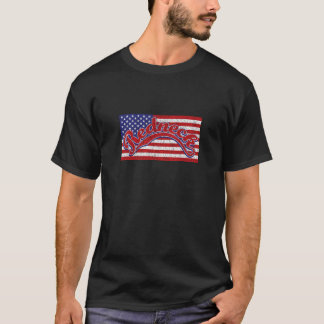 Camiseta Campónio e bandeira