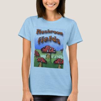 Camiseta campos do cogumelo