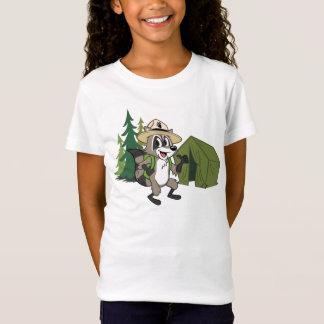 Camiseta Campout americano do rick | da guarda florestal