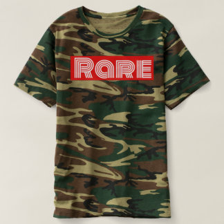 Camiseta Camuflagem RARA