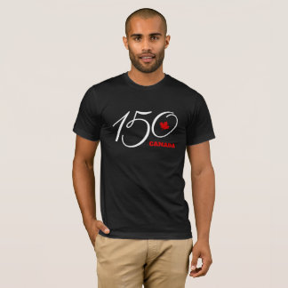 Camiseta Canadá 150, comemora o t-shirt do dia de Canadá