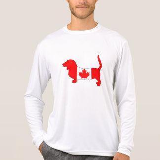 Camiseta Canadá Basset Hound